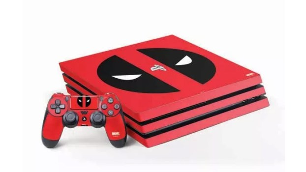 Deadpool Logo Red