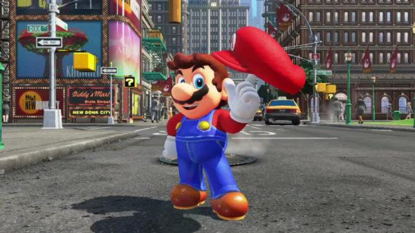 Super Mario Odyssey, Nintendo, Switch, launch lineup