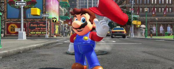 Super Mario Odyssey, Nintendo, Switch, games, carry, e3 2017