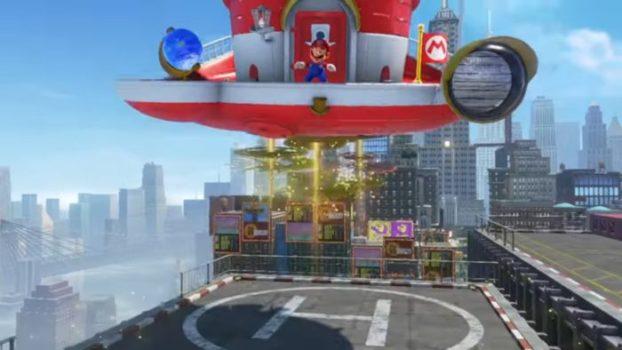 Mario's Ship