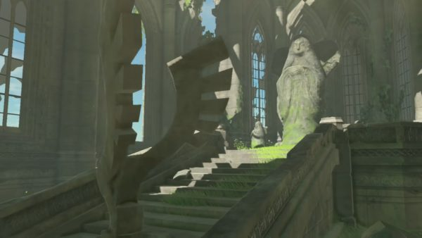The Legend of Zelda Breath of the Wild Temple