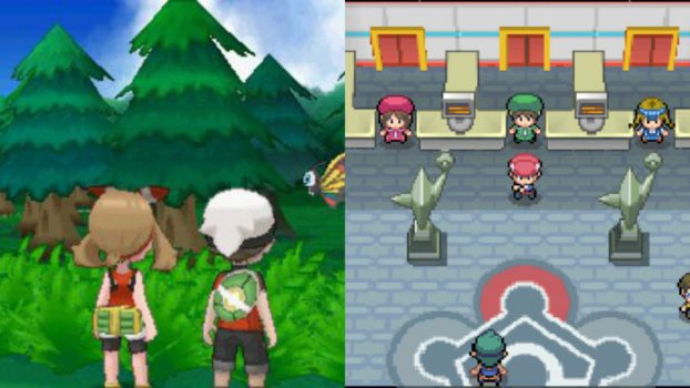 Pokemon Platinum and Omega Ruby - 83
