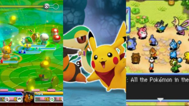 Pokemon Mystery Dungeon: Explorers of Darkness, Rumble, and Mystery Dungeon: Gates to Infinity - 59