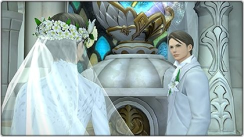 Final Fantasy XIV marriage, character can get married, dating, romance