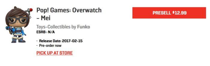 overwatch, funko pop, wave 2, release date, EB games, pre-order