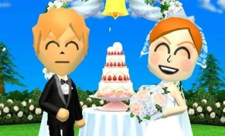 Tomodachi Life Marriage, character can get married, dating, romance