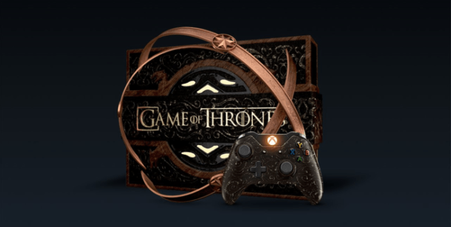 Game of Thrones Special Edition Console