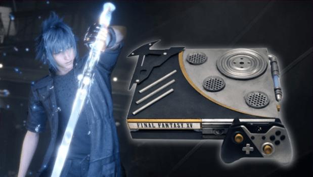Final Fantasy XV Noctis' Engine Blade Special Edition Console