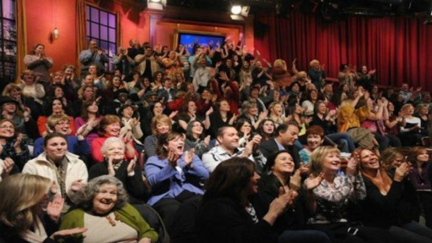 In the Live Audience for a Daytime Talk Show