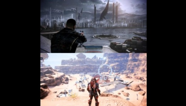 The Great Outdoors - Mass Effect 3 / Andromeda