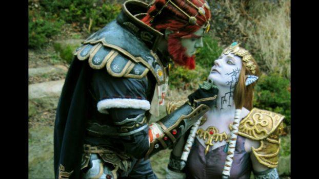 Ganondorf and Puppet Zelda - Twilight Princess