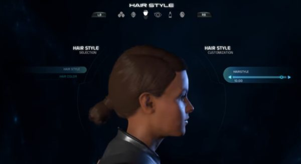 Mass Effect Andromeda Female Hairstyle 010