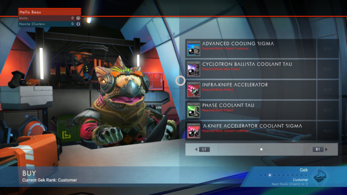 No Man's Sky improvements features missions characters