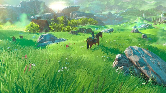 Nintendo, breath of the wild, zelda, horses, legend of zelda