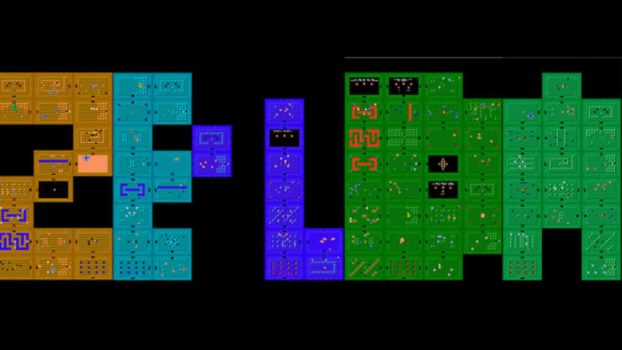The Dungeon Layout of the Original Game Spells Out Zelda
