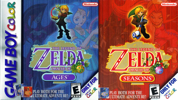 Capcom Developed Two Zelda Games