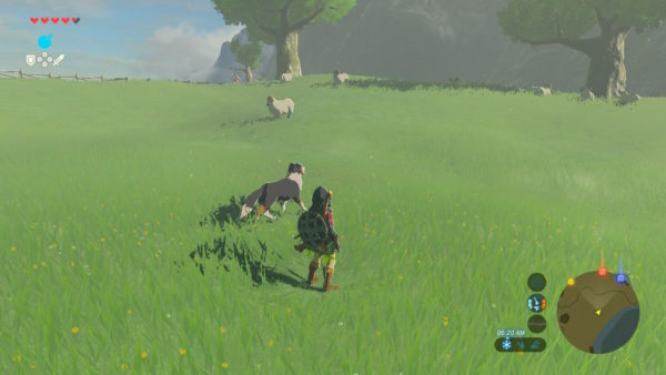 breath of the wild dog