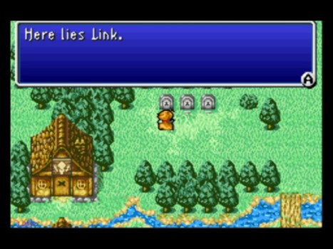 Link's Grave Can be Found in Final Fantasy