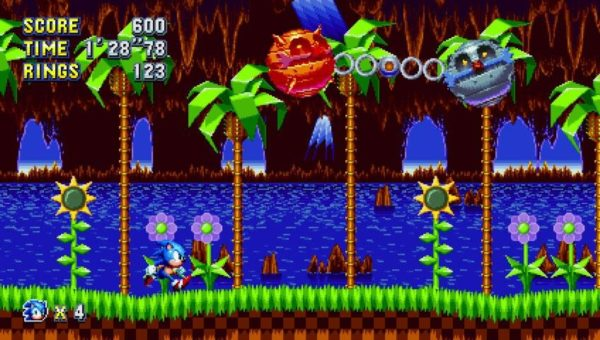 green hill zone sonic mania