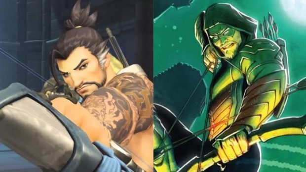 Hanzo Would Be... Green Arrow