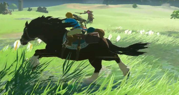 horses, breath of the wild, horse, zelda