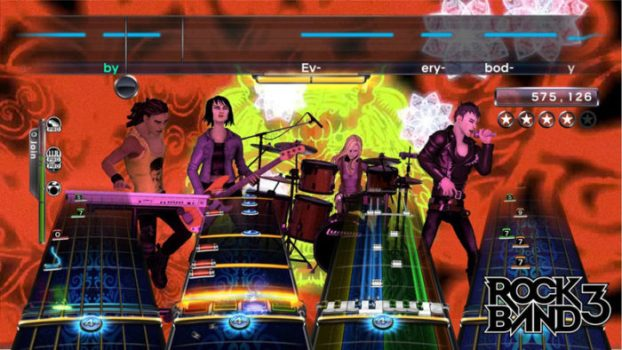 Rock Band 3 - Live Free or Die