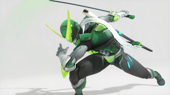 Genji, Overwatch, Toxic