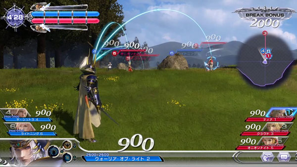27. Dissidia Final Fantasy NT