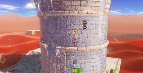 Super Mario Odyssey E3 2017 2D Levels