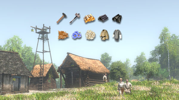 life is feudal, forest village, mods