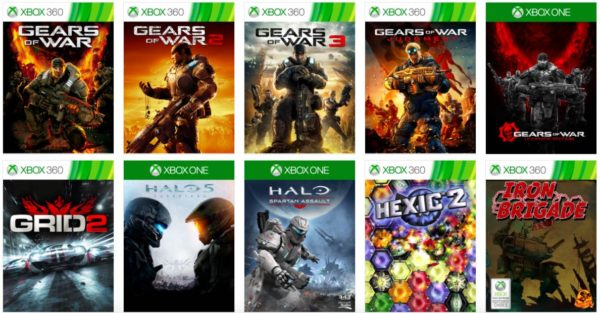 Xbox, Game Pass, game images