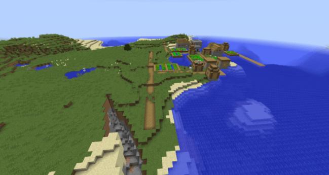 Waterlogged Island Village