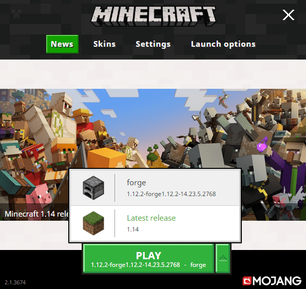 install minecraft forge for mods