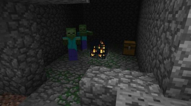 Diamonds and Zombie Dungeon