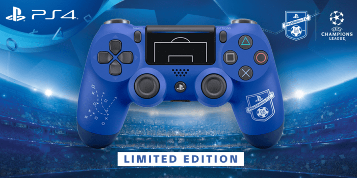 Check Out The Limited Edition PlayStation FC DualShock 4 Controller