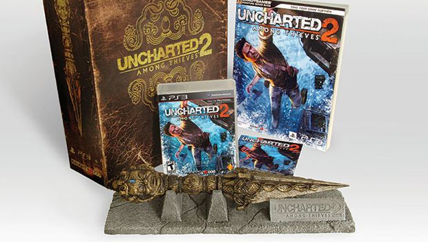 Uncharted 2 Fortune Hunter Collector's Edition