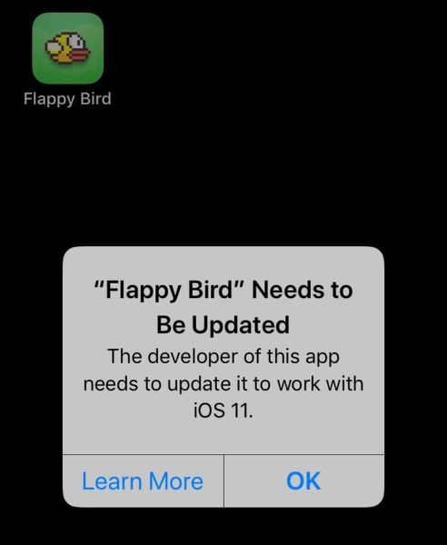 Image result for flappy bird ios11