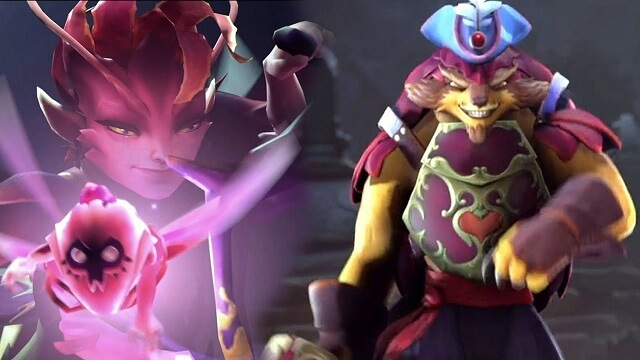 Screenshot of upcoming DOTA 2 heroes.