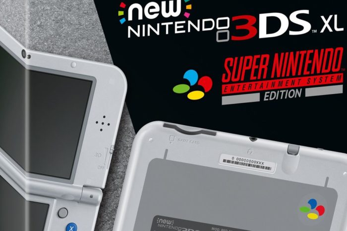 snes edition, new 3ds xl