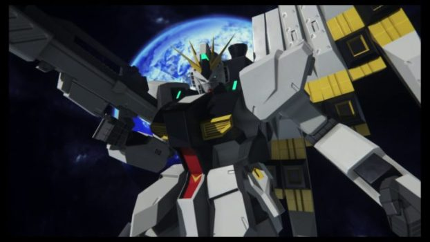 Nu Gundam - Mobile Suit Gundam: Char's Counterattack