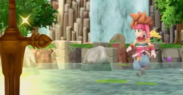 Secret of Mana remake gameplay footage