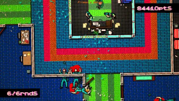 Hotline Miami violent games