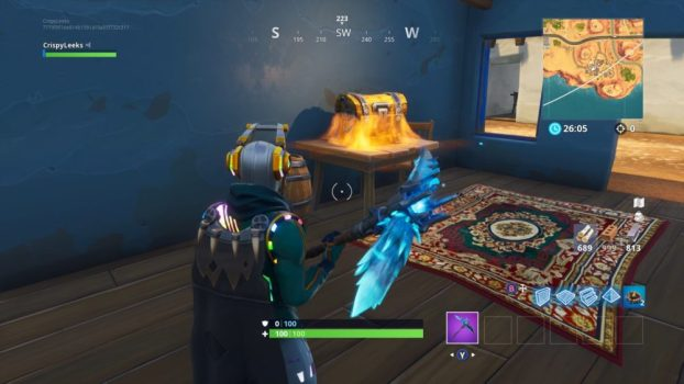 Going for Chests Before Weapons When Landing