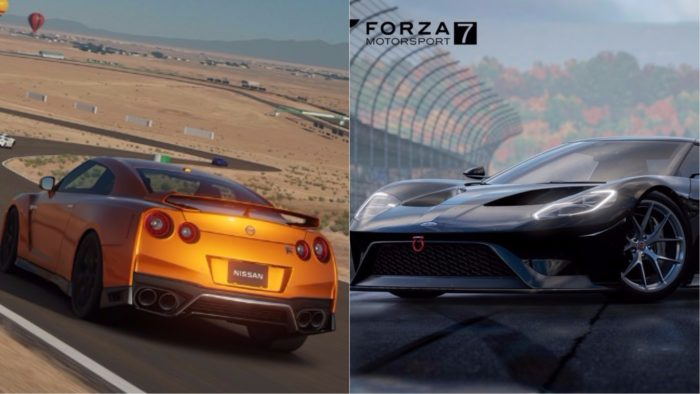 gt sport vs forza 7 which one should you buy. Black Bedroom Furniture Sets. Home Design Ideas