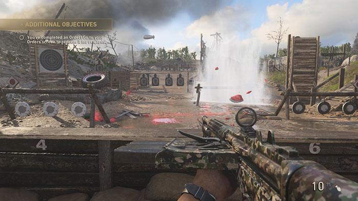 CoD WW2 Firing Range