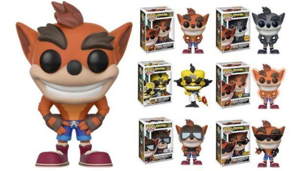 Crash Bandicoot Pop Vinyl