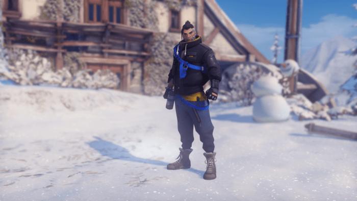 overwatch hanzo winter