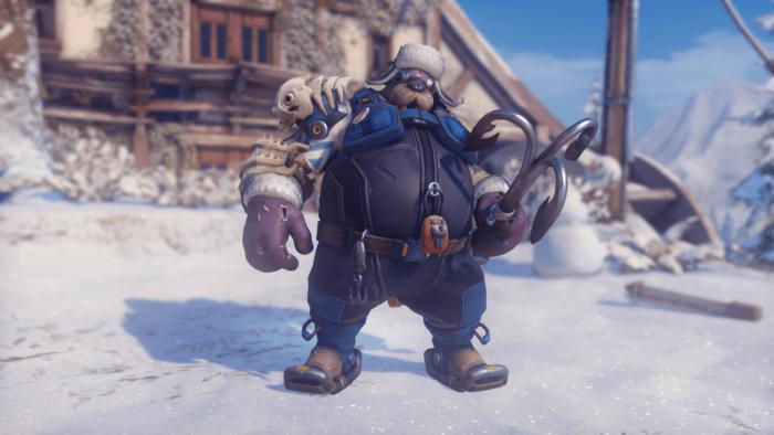 overwatch roadhog winter