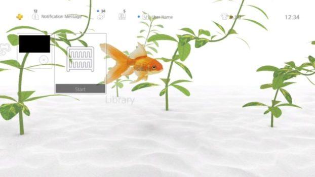 Goldfish Dynamic Theme
