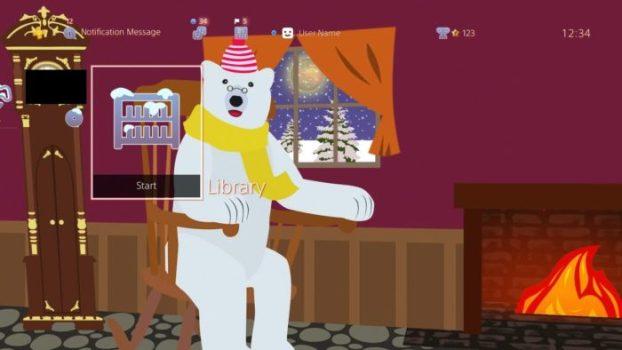 Grandpa Polar Bear Dynamic Theme